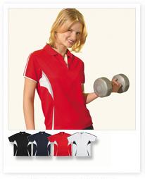 Ladies  Cool Dry Polo Shirts