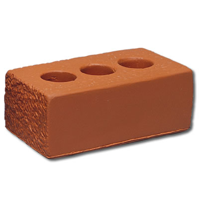 S136 Anti-Stress Brown House Brick