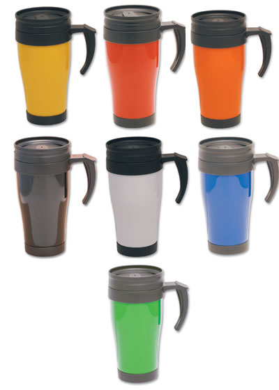G003 500ml Promotional Plastic Thermo Travel Mug