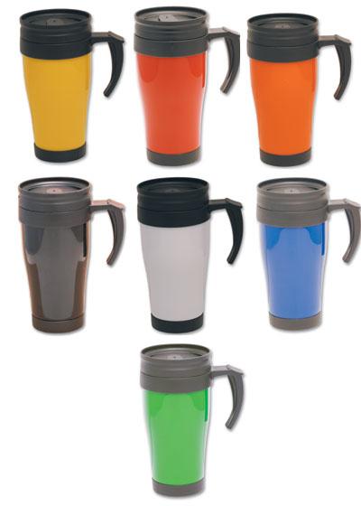 G003 350ml Promotional Plastic Thermo Travel Mug