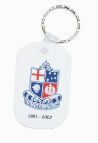 KP606 Promotional Durasoft Keyrings - Oblong Shape