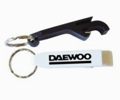 KP610 Plastic Flip Top Bottle Opener Keyrings