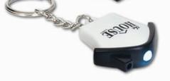 LL467s-white Mini House Flashlight Promotional keyrings (white light)