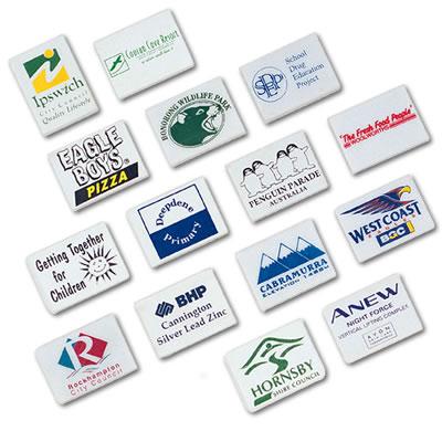 LL45s White Rectangular Promotional Eraser