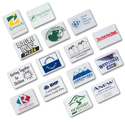 LL45s White Rectangular Promotional Eraser