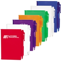 LL2705s Plastic Pocket Notebook with Promotional Pen