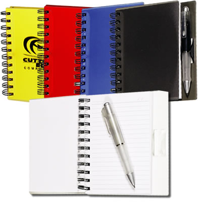 LL2706s Spiral Promotional Notebook with Pen