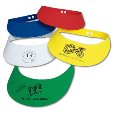 LL1822s E.V.A. Foam Adjustable Visors