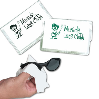 LL601s White Microfibre Lens Cloth