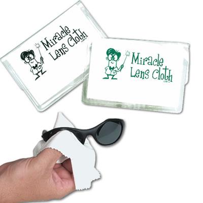 LL601s White Microfibre Lens Cloth