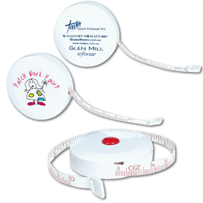 LL496s White Styleline Promotional Tape Measure