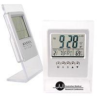 LL64s L-Shape LCD Desk Clock