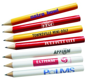 P1102 Wooden Golf Half Pencil