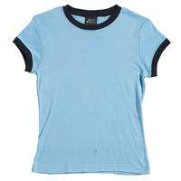 JB-1LRT Ladies Ringer Tee Shirt