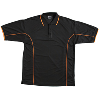 JB-7PIP Piping Poly Promotional Polo Shirts