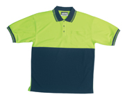 JB-6HPSE High-Vis Short Sleeve Cotton Back Polo Shirts