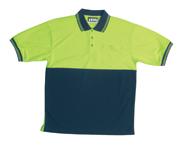 JB-6HPSE High-Vis Short Sleeve Cotton Back Polo Shirts
