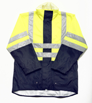 JB-6DNLL Hi-Vis Long Line Jacket (2 IN 1 day + night)