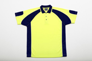 JB-6APHS High-Vis Short Sleeve Arm Panel Polo Shirts