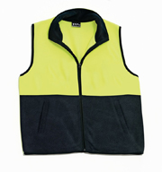 JB-6HVPV High-Vis Polar Fleece Vest