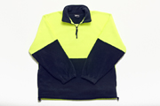 JB-6HVPF High-Vis Polar Fleece Jumper 1/2 Zip