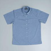 JB-4LSLSX Short Sleeve Fine Chambray Business Shirts