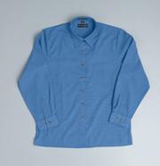 JB-4LICX Long Sleeve Indigo Business Shirts