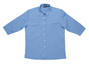 JB-4LSLTX Three Quarter Sleeve Fine Chambray Business Shirts