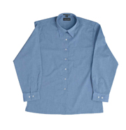 JB-4LSLX Long Sleeve Fine Chambray Business Shirts