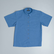 JB-4LICSX Short Sleeve Indigo Business Shirts