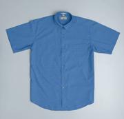JB-4ICS Short Sleeve Indigo Chambray Business Shirts
