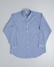 JB-4FC Long Sleeve Fine Chambray Business Shirts