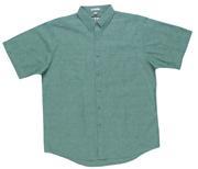 JB-4CS Short Sleeve Cotton Chambray Business Shirts