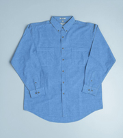 JB-4CL Long Sleeve Cotton Chambray Business Shirts