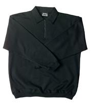 JB- 3FSZ Zip Collar Fleecy Tops