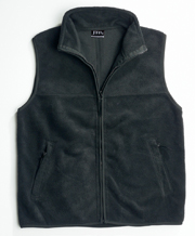 JB-30V Open Hem Polar Fleece Promotional Vest