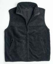 JB-30V Open Hem Polar Fleece Promotional Vest