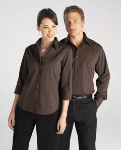 LB8425  Manhattan Stripe Business Shirts