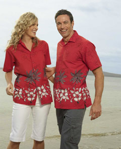 SHS122 Unisex Hawaiian Shirts