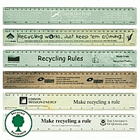 LL13s Recycled 30cm Promotional Ruler [made in Aust.]