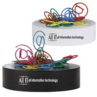LL2566s @ Shaped Promotional Paper Clips on magnetic base