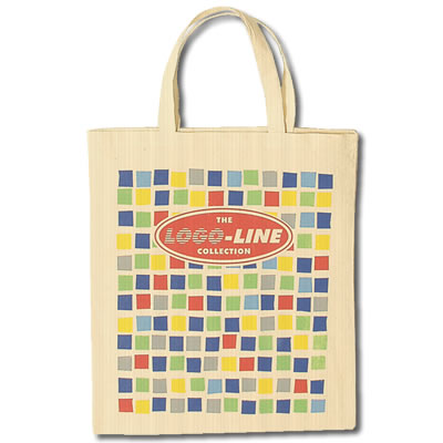 LL500s  Short  Handle Promotional Calico Bag