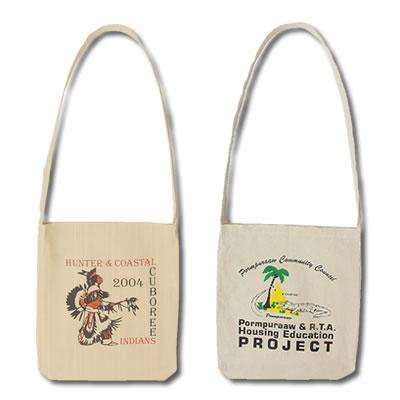LL512s Long  Handle Calico Bag