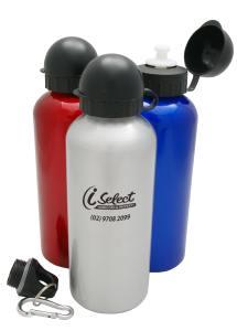 Promotional Drink Bottle</p> Kakadu Aluminum Sports Flask <p/>Quantity: 50
