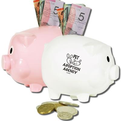 Promotional Money Boxes </p> L'll Piggy Money Box <p/>Quantity: 100