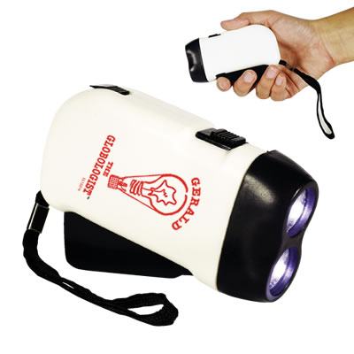 Promotional ECO Friendly </p> Dynamo Flashlight <p/>Quantity: 100