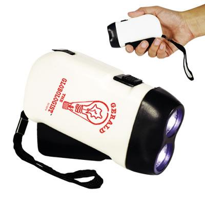 Promotional ECO Friendly </p> Dynamo Flashlight <p/>Quantity: 100