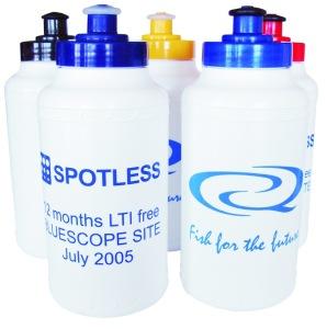 SR0706 500ml Screw Top Promotional Plastic Drink Bottle