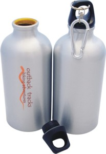 B709 Metal Promotional Sports Flask