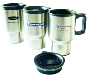 M 08 Promotional Stainless Steel Travel Mug